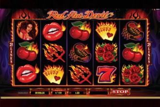 Red Hot Devil Slot Reels