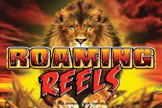 Roaming Reels Slot Logo