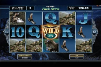 Untamed Crowned Eagle Slot Free Spins