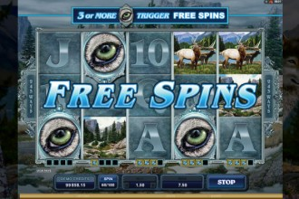 Untamed Wolf Pack Free Spins Scatters