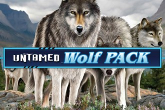 Untamed Wolf Pack Slot Logo