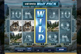 Untamed Wolf Pack Slot Wilds