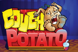 Couch Potato Slot Logo