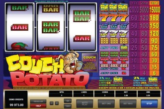 Couch Potato Slot Reels