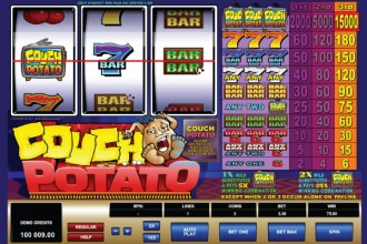 Couch Potato Slot Wild Win
