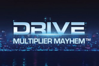 Drive Multiplier Mayhem Slot Logo