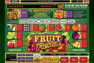 Fruit Fiesta Slot Paytable