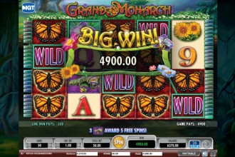 Grand Monarch Slot Big Win