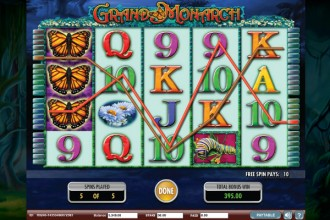 Grand Monarch Slot Free Spins