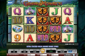 Grand Monarch Slot Wilds