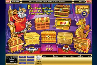 King Cashalot Slot Bonus