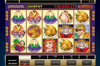 King Cashalot Slot Reels