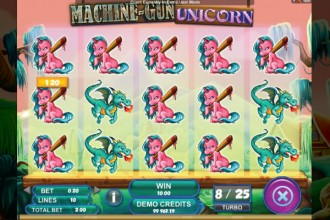 Machine Gun Unicorn Slot Symbols