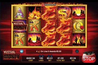 Mustang Money Slot Stacked Wilds