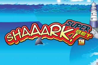 Shaaark Super Bet Slot Logo