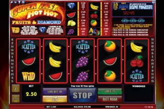 Super Fast Hot Hot Slot Free Spins