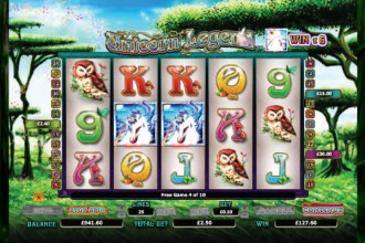 Unicorn Legend Slot Free Spins