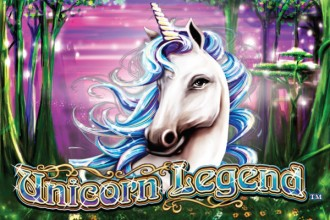 Unicorn Legend Slot Logo