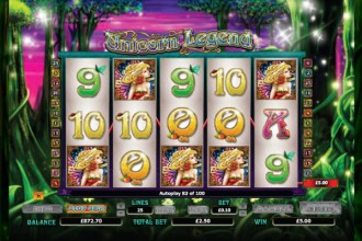 Unicorn Legend Slot Reels