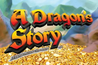 A Dragon's Story Slot Logo