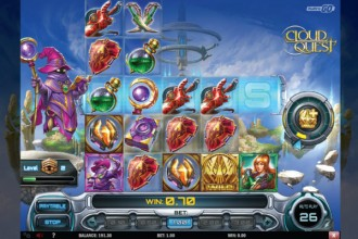 Cloud Quest Slot Reels