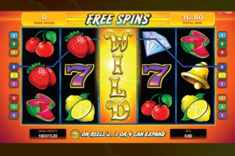 SunTide Slot Free Spins