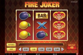 Fire Joker Slot Reels