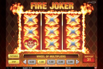 Fire Joker Slot Flaming Respins