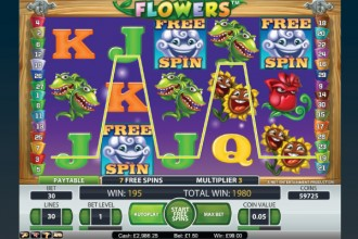 Flowers Slot Free Spins