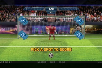 Football Champions Cup Slot Bonus Game