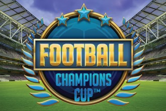 Football Champions Cup Slot Logo