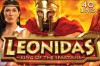 Leonidas King of Spartans Slot Logo