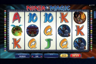 Ninja Magic Slot Reels