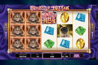 Pretty Kitty Slot Reels