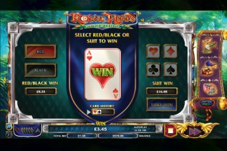 Robin Hood Prince Of Tweets Slot Gamble Feature