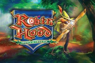 Robin Hood Prince Of Tweets Slot Logo