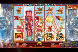 The Flash Slot Expanding Wilds Bonus