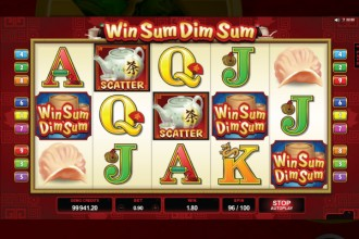 Win Sum Dim Sum Slot Wilds