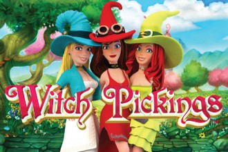 Witch Pickings Slot Logo