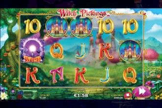 Witch Pickings Slot Reels