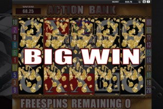 Action Bank Slot Big Win