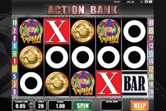 Action Bank Slot Reels