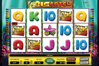 Big Catch Slot Win