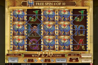 Book of Dead Slot Free Spins Win