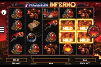 Frozen Inferno Slot Red Wizard