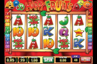 Happy Fruits Slot Pick A Win Bonus