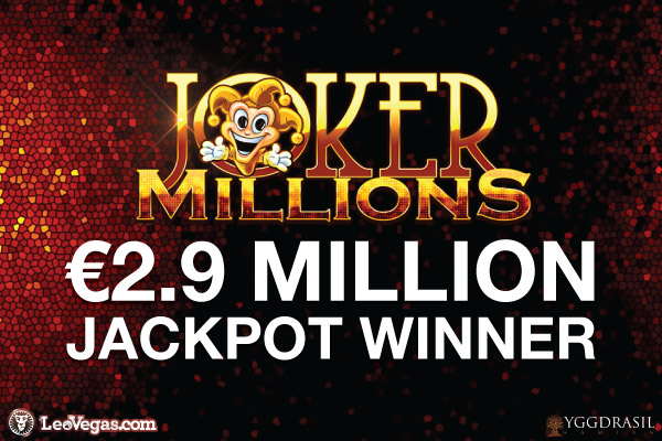 Yggdrasil Joker Millions Slot Pays Out Big At Leo Vegas
