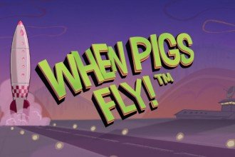 When Pigs Fly Slot Logo