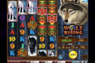 Wolf Rising Online Slot Big Win