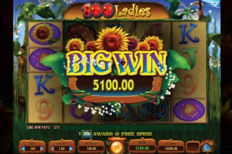 100 Ladies Slot Big Win